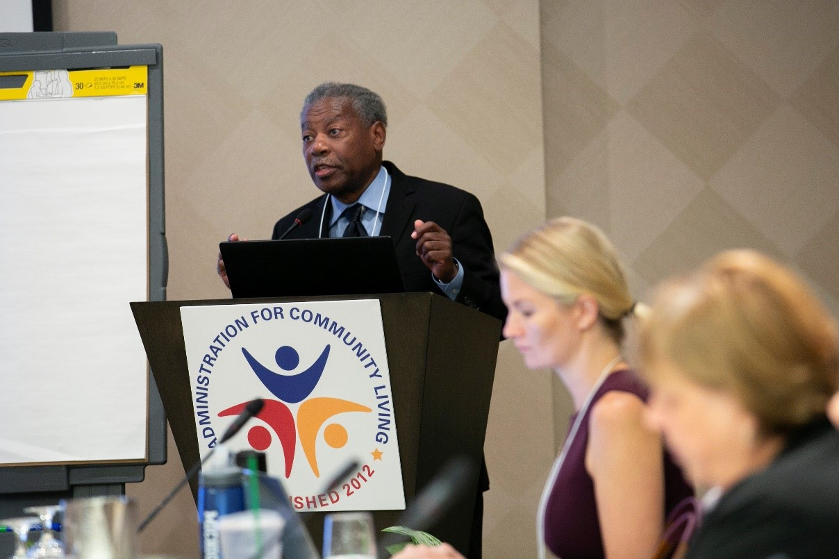 Dr. Joseph Crumbley, Ph.D., Family Therapist and Trainer presenting on Family Dynamics and the Impact of Kinship Care