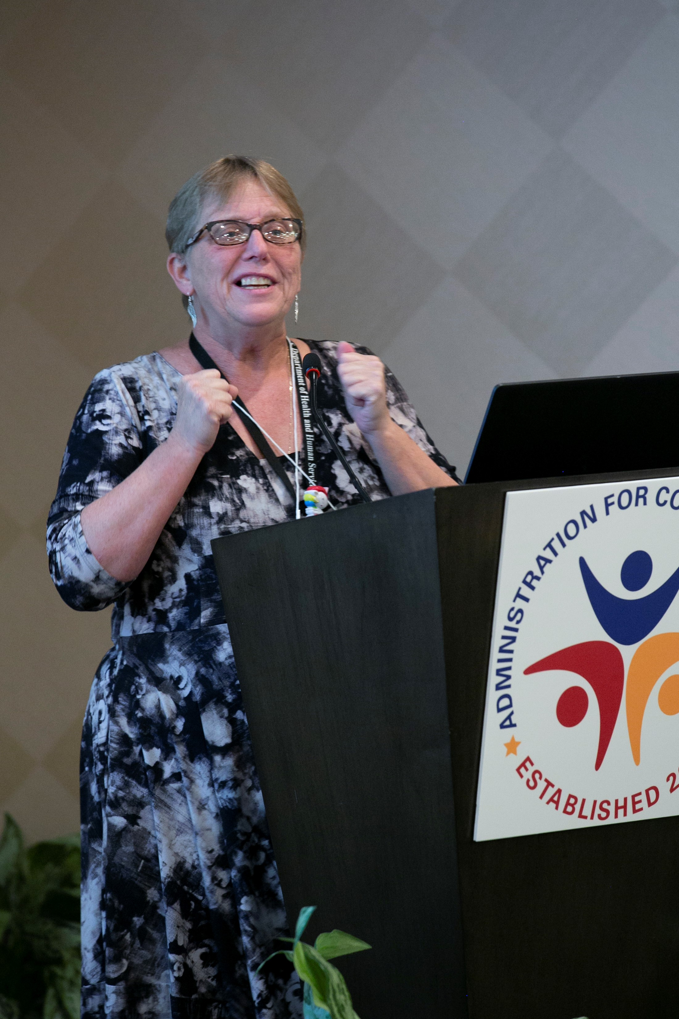Lori Stalbaum, Administration for Community Living welcoming the RAISE Family Caregiving Advisory Council on August 28, 2019