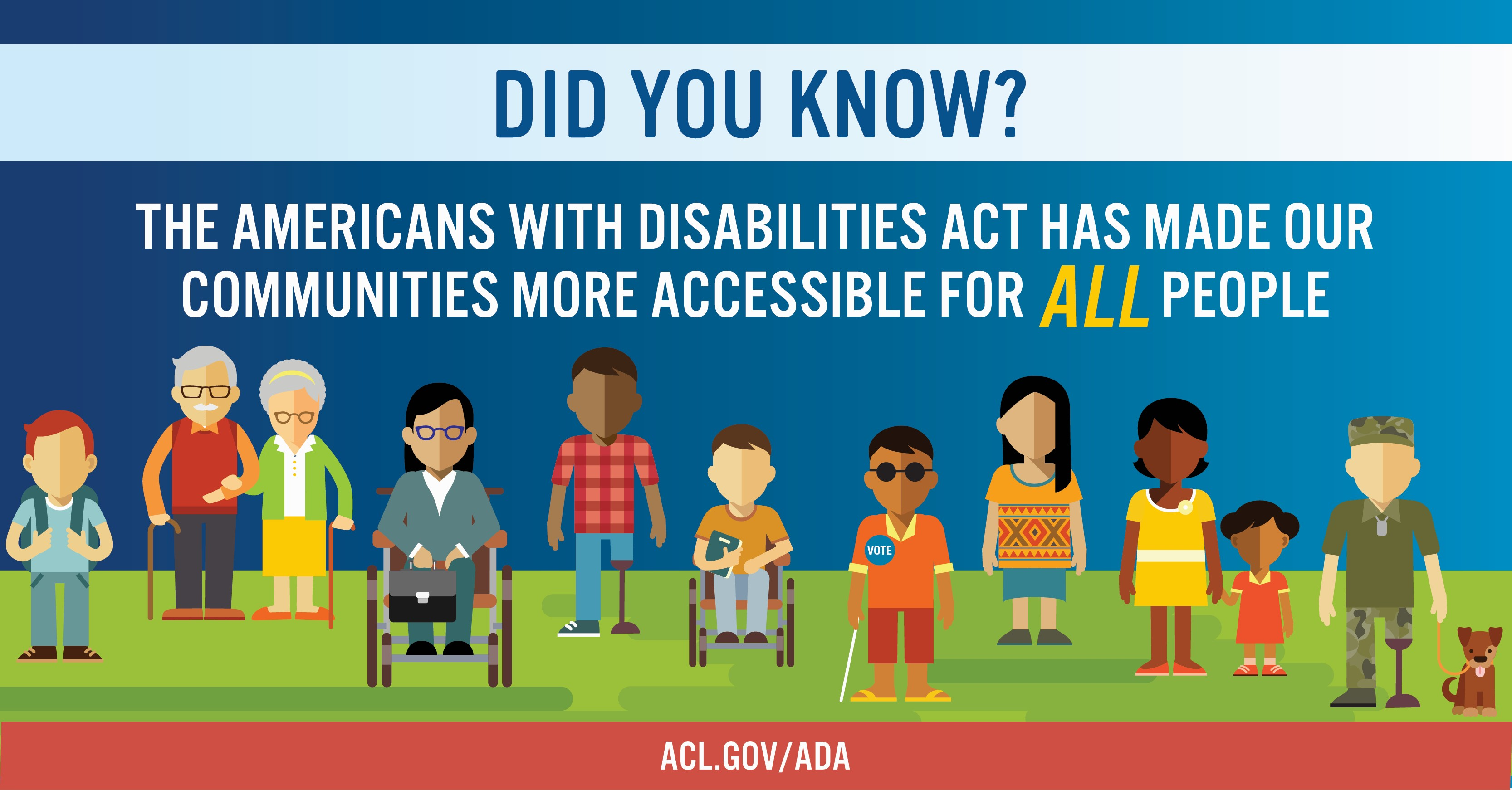 The ADA has made our communities more accessible for all people