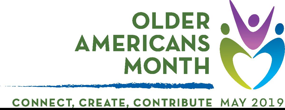 Older Americans Month Logo - English