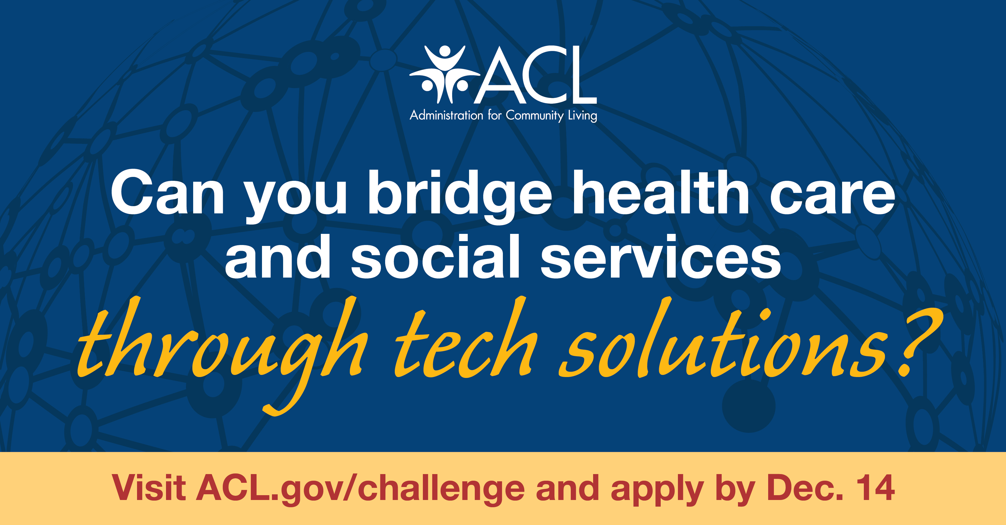 Can you bridge health care and social services through tech solutions?