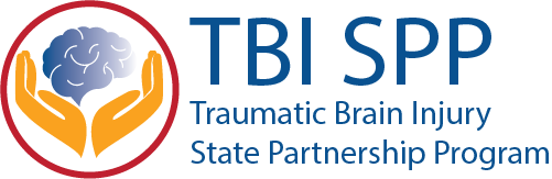 Traumatic Brain Injury State Partnership Program logo