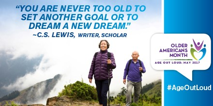 Older Americans Month, New Dream: May 2017