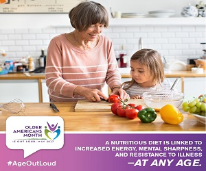 Older Americans Month, Nutrition: May 2017