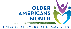 Older Americans Month 2018 logo